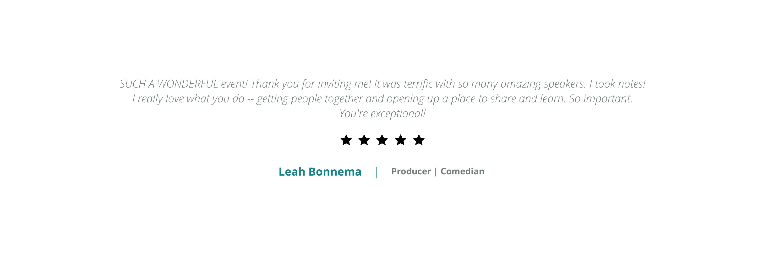 Leah Bonnema